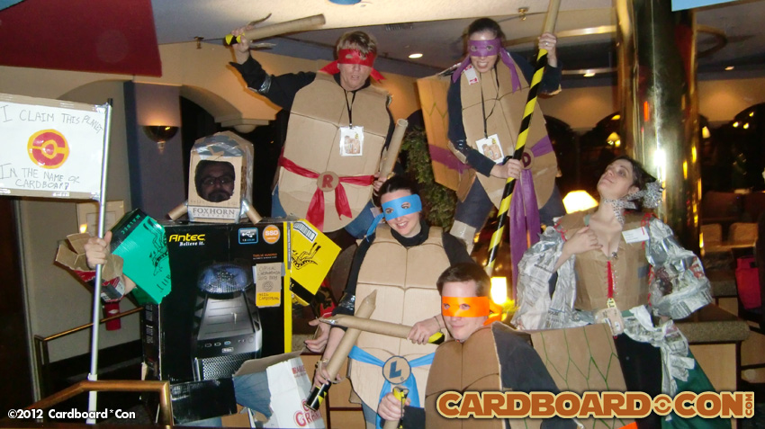 photo of the winners of the 2012 CC Costume Contest