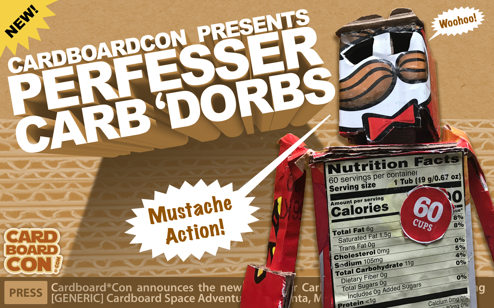Perfesser Carb'dorbs action doll