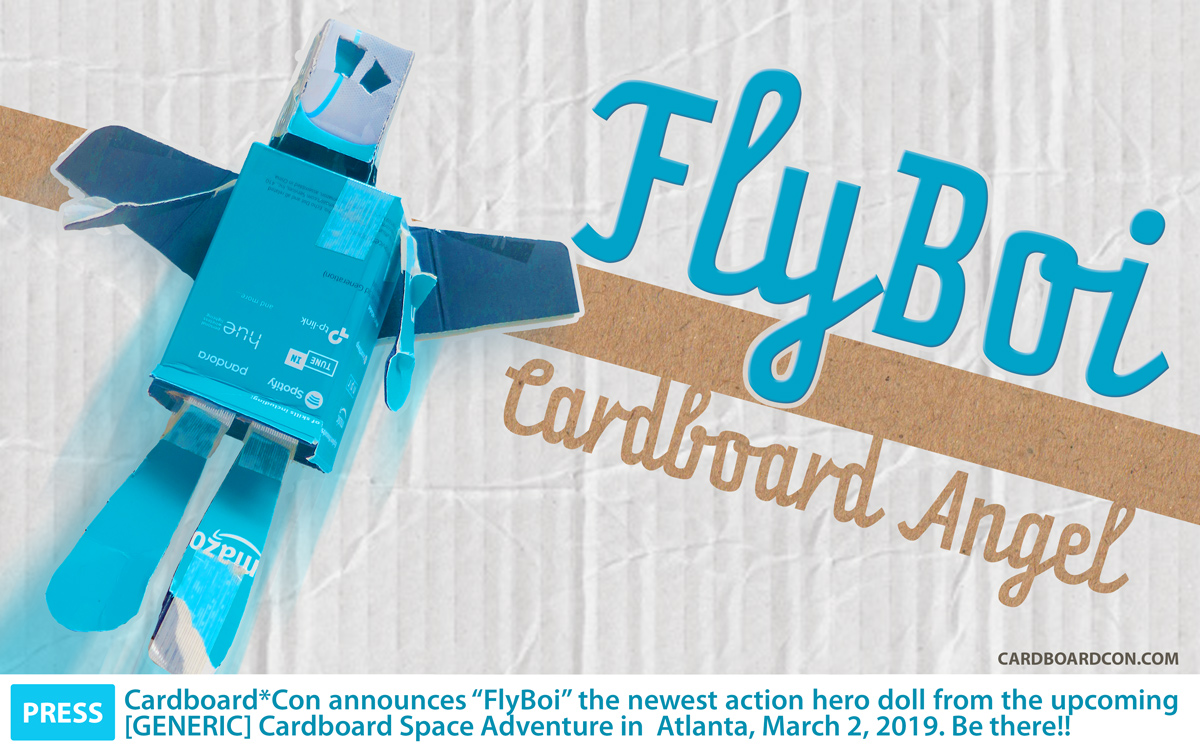 Flyboi action doll